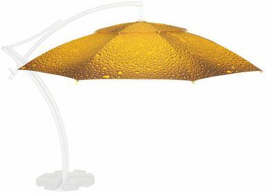 LITEX Promo Sp. z o.o. Poszycie parasola ogrodowego Ibiza 4,2m Bąbelki Żółto-Brą