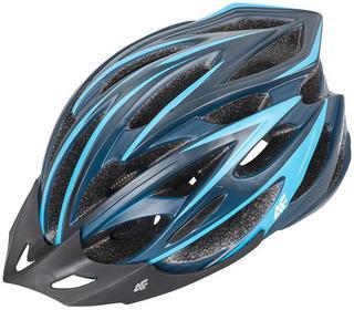 4F Kask rowerowy unisex KSR001 Granatowy Granatowy