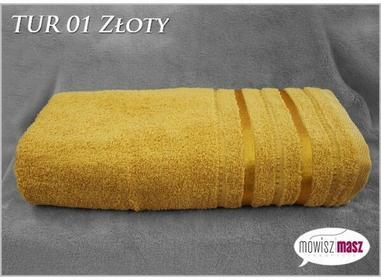 Ręcznik 70x140 Kąpiel. Bawełna TUR 01 Złoty 30569
