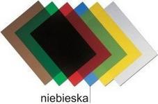 Opus Folia do bindowania A4 0,25mm niebieska OCLEAR_020_NIEBIESKA