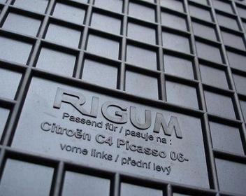 Rigum Dywaniki gumowe Citroen C4 Picasso 7 miejcowy (2006-)