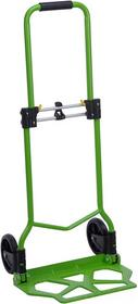Składany wózek transportowy, ręczny - zielony TY1000020-zielony