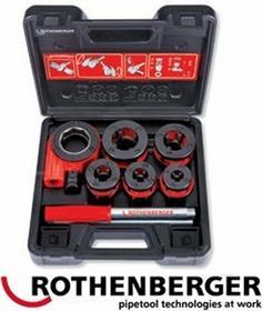 ROTHENBERGER ręczna z grzechotką SUPER CUT - Sets O 3/8-1/2-3/4-1-11