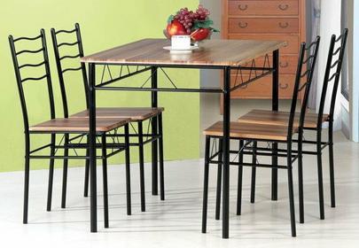 Signal Stół z krzesłami ESPRIT Orzech