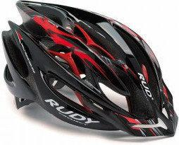 RUDY Kask Project Sterling blk/red/sivl/tit rozm. S/M GRE-KA12