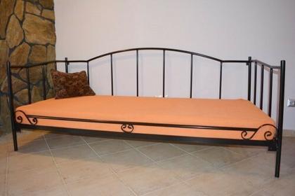 Grupa Lak System Łóżka metalowe Metalowe łóżko salon sypialnia taras 90x200 WZ