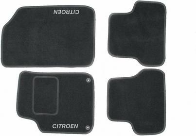 MotoHobby Dywaniki samochodowe CITROEN DS3 -CITROEN DS3 Komplet dywaników MOTOLU