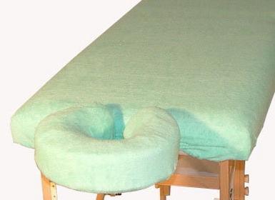 Juventas Komplet frotte - pokrycie na stół i podgłówek