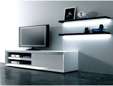 D2 Szafka RTV Smart szuflada biała DK-71496