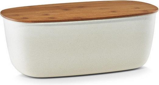 Zeller Chlebak ECO-LINE z deską do krojenia, 2w1 - biały 25117 8D5