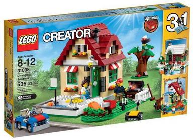 LEGO Creator - Zmieniające się pory roku 31038