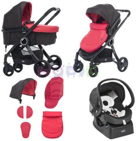 Chicco Urban Plus crossover 3w1 red passion