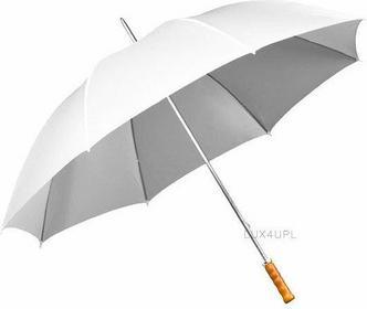 Impliva Duży parasol ślubny . Czasza 130 cm. ZGP-1-8111