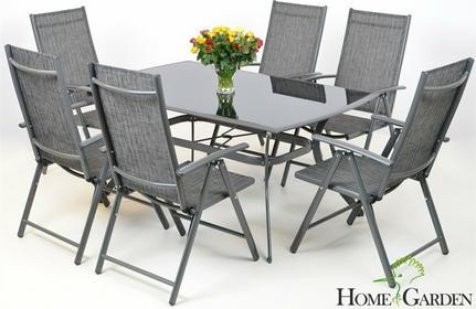 Home&Garden Meble Ogrodowe Aluminiowe IBIZA Grey