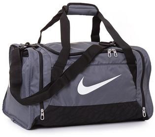 Nike TORBA BRASILIA 6 SMALL szary BA4831074