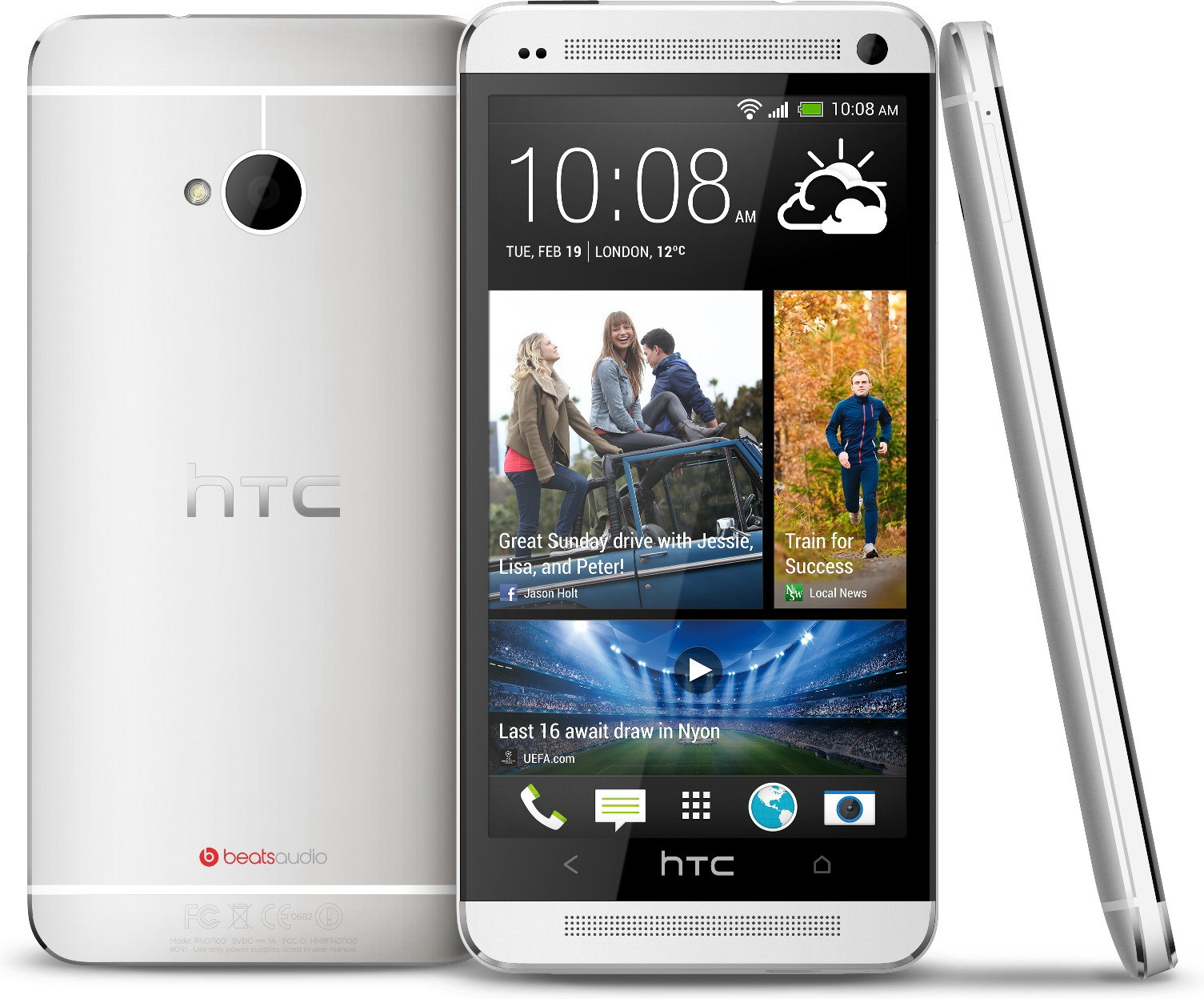 HTC ONE Srebrny