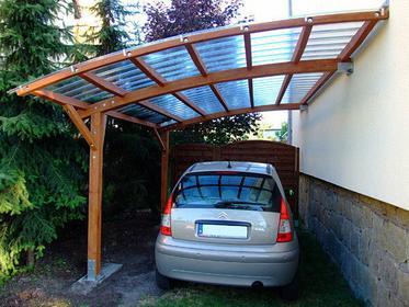Wiata samochodowa Icopal Carport 2.0 Drewno