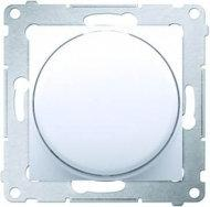 Kontakt Simon Simon 54 Premium (srebrny mat) - Ściemniacz naciskowo-obrotowy DS9