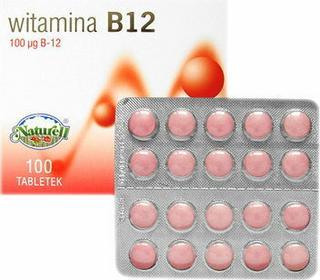 Naturell Witamina B12 100 szt.