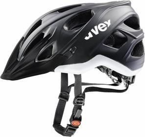 UVEX Kask rowerowy Stivo CC - Black/White Mat