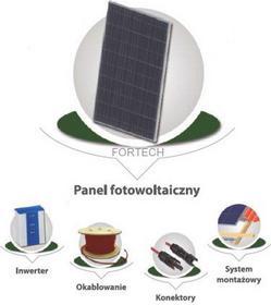 Fortech Zestaw paneli fotowoltaicznych 7,84 kW (OnGrid) TL3 ELE000191