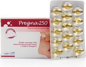 Verco Pregna 250 DHA 30 szt.