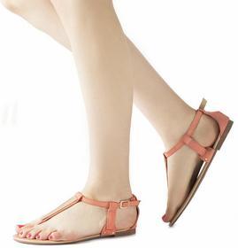 Różowe sandały Pink Sandals Maricel różowy