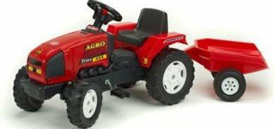 Falk Traktor Agro Trac 4x4 z przyczepą 886A