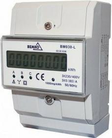 Bemko Sp. z o.o. LICZNIK ENERGII 3-fazowy 5 (80) A A30-BM030-L
