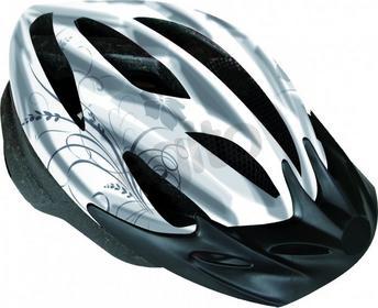 PROFEX Vega 62325 Kask rowerowy damski L/XL biało-czarny