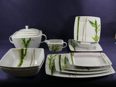 Lubiana Serwis obiadowy 12 osób Victoria 3394 (bambus)
