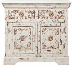 Kare Design Komoda Taberna White 2 drzwi, 2 szuflady 78040