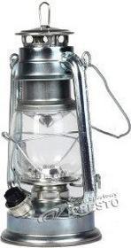 Mactronic Lampa campingowa Retro 15 LED - srebrny 106756