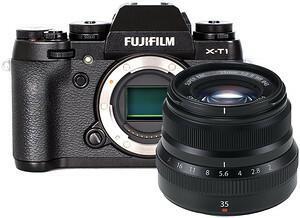 Fuji X-T1 + 35 WR czarny