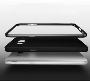 iPaky Etui Carbon Hybrid Samsung Galaxy J7 2016 - Grey