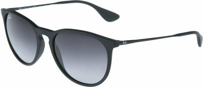 Ray Ban Ray-Ban ERIKA Okulary przeciwsłoneczne czarny 0RB4171