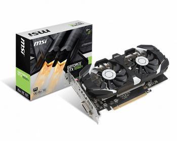 MSI GTX 1050 Ti 4GT OC 4GB VR Ready