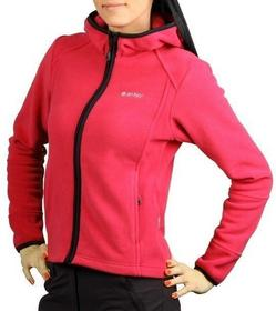 Hi-Tec Polar damski z kapturem Lady Madeira - Teaberry Red