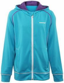 Babolat Bluza Dziewczęca Sweat Match Performance Girl - turquoise