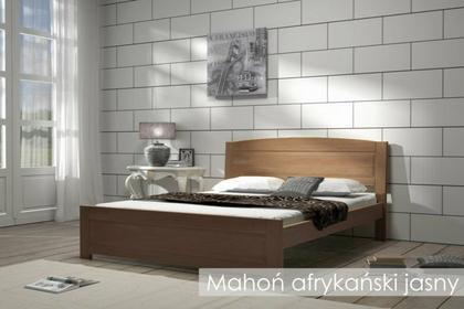 Laris Polska Łóżko lite drewniane Merkury 140x200