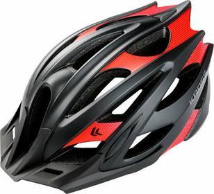 Kross Kask rowerowy TIDAL czarno-czerwony