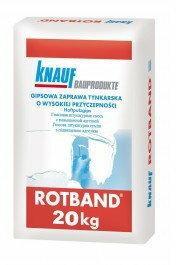 Knauf Rotband gipsowa zaprawa tynkarska 20kg