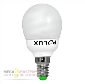 Polux Żarówka energooszczędna E14 CFL 7W Ciepła SE4783