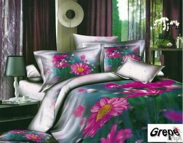 Cotton World Pościel 3D satyna bawełna 160x200 100% bawełna