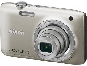 Nikon Coolpix S2800 srebrny
