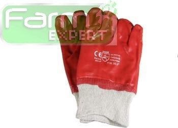 Rękawice ochronne PCV ze ściągaczem REKAWICE 100350