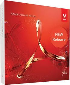 Adobe Acrobat Professional 11 Pro for Teams Win/Mac ENG - Nowa licencja