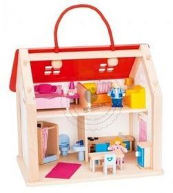 Goki Drewniany domek 51780