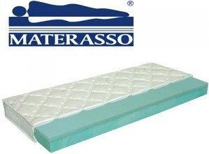 Materasso Materac VISCOGREEN LUX, Rozmiar - 160x200, Pokrowce - Eucalyss Visco