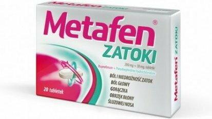 Polpharma Metafen Zatoki 20 szt.